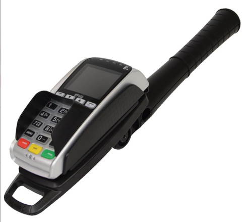 Drive Through Handle for Credit Card Machine for Ingenico iPP320, VX805/820, ICT