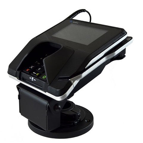 Metal Stand for Verifone MX915 and MX925 Stand - Strudy, Metal, Low Profile Contour Stand - HILIPRO.COM