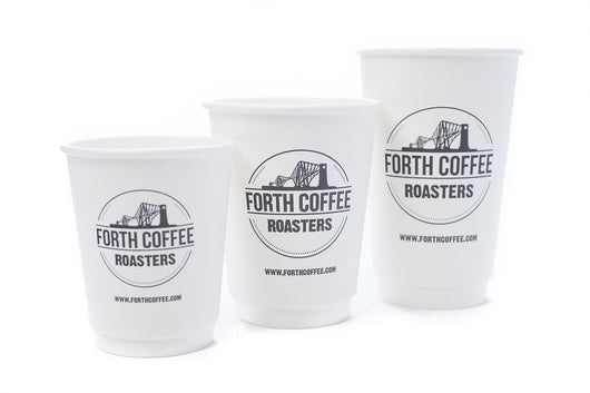 8oz Disposable Coffee Cups x 100
