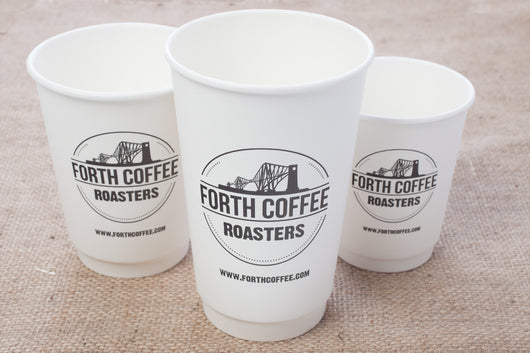12oz Disposable Coffee Cups x 100
