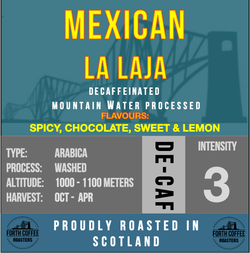 Decaf Water Processed Mexican La Laja
