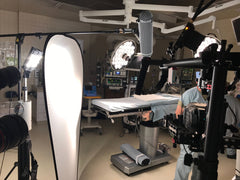 FoxFury Production Lights Used in Hospital Video Shoot