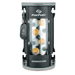 FoxFury Nomad® N32 Production Light - Studio quality light delivers up to 2,400 lumens of 95 CRI 3200K tungsten equivalent lighting