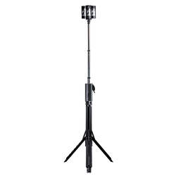 FoxFury Nomad® 360 Scene Light - cordless, rugged area light delivers up to 8,000 lumens and extends over 8 feet tall
