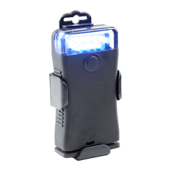 The FoxFury Scout 470nm Blue Forensic Light System helps in visualizing fluorescence / absorption in evidence