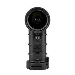 FoxFury Breakthrough® BT2 Black Hybrid Light - Professional Search Tool is 200 Lumens. Powered by (4) AA Batteries. Waterproof. Fire-Resistant. Front view
