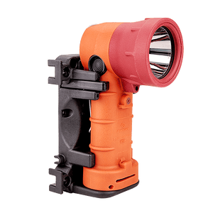 FoxFury Breakthrough® BT2+ Orange Hybrid Light Rechargeable - professional, long distance search tool has 700 lumens. Waterproof. Fire-Resistant.