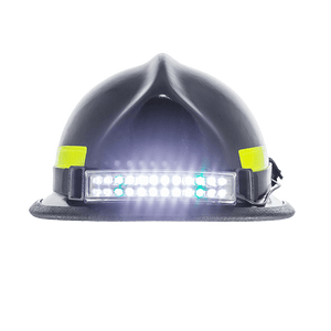 FoxFury Performance Intrinsic Tasker-Fire Helmet Light - Durable light is fire resistant and waterproof. Tilt plate allows the light beam to be angled up or down as necessary