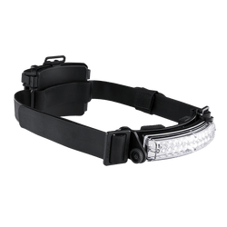 FoxFury Command+ Tilt White LED Headlamp / Helmet Light - Panoramic light bar is 100 lumens and has True to Life™ LED technology. Impact and fire resistant.