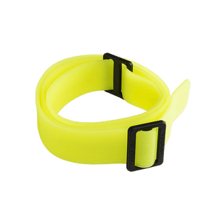 FoxFury Silicone Glow Strap - Phosphorescent silicone strap for safety helmets and fire helmets provides visibility by glowing in the dark.