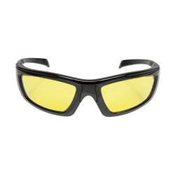 FoxFury CS Eye Glasses for Forensics shown in yellow