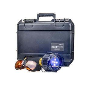 PL 445nm Blue 5W Forensic Laser System - Distributed by FoxFury comes with case
