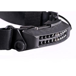 FoxFury Command 20 Stealth Scuba Tac Headlamp - has an adjustable tilt and designed to be used in military, special operations and other covert tactical applications