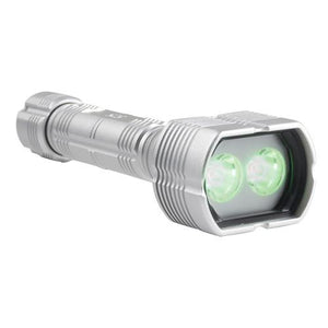 HammerHead Green 525nm Forensic Light Source - Durable light has anti-roll head to help prevent contamination and is waterproof for easy cleaning.