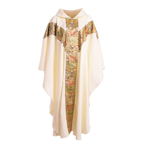 1pc BLESSUME Church Clergy Vestments Catholic Cassock Priest Chasuble Cope Robe Stoles