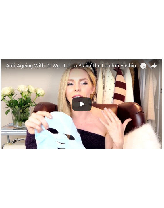 DR WU Face Mask Review by Laura Blair (The London Fashion Girl)