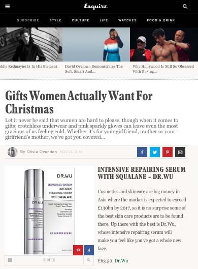 Skincare gifts women actually want
