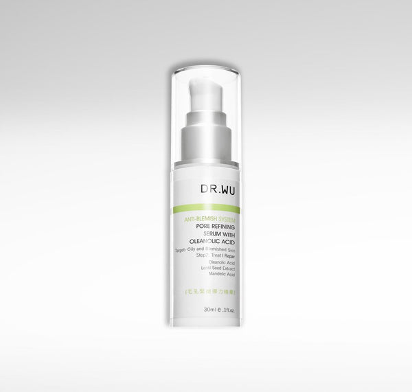 Pore Refining Serum with Oleanolic Acid, DR.WU Skincare