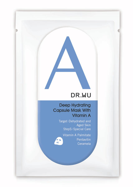 deep hydrating capsule mask with vitamin A DR.WU Skincare