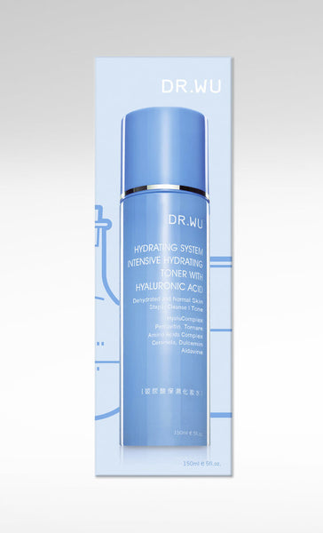 Intensive Hydrating Toner With Hyaluronic Acid, DR.WU Skincare