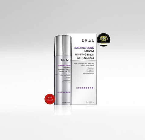 Intensive Renewal Serum with Squalane, DR.WU Skincare