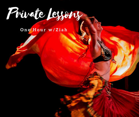 Private bellydance lessons with ziah in Decatur and Atlanta