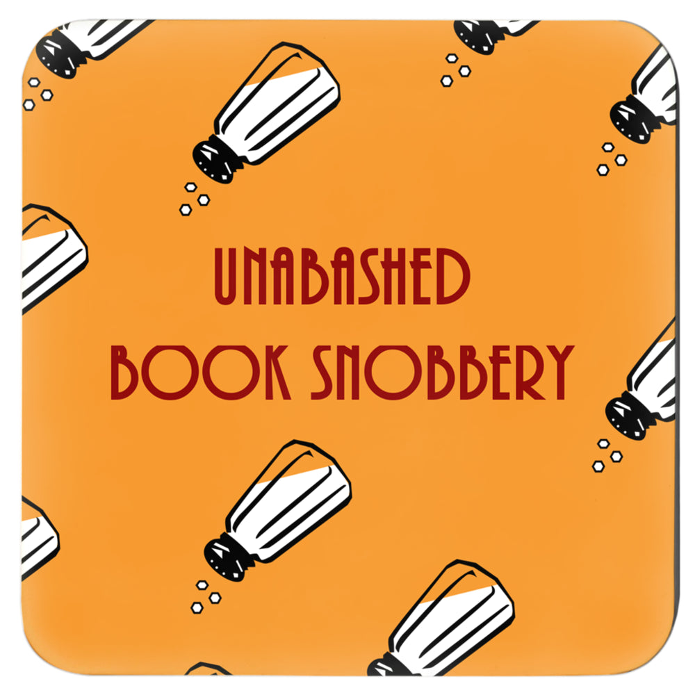 Unabashed Book Snobbery (Coasters)