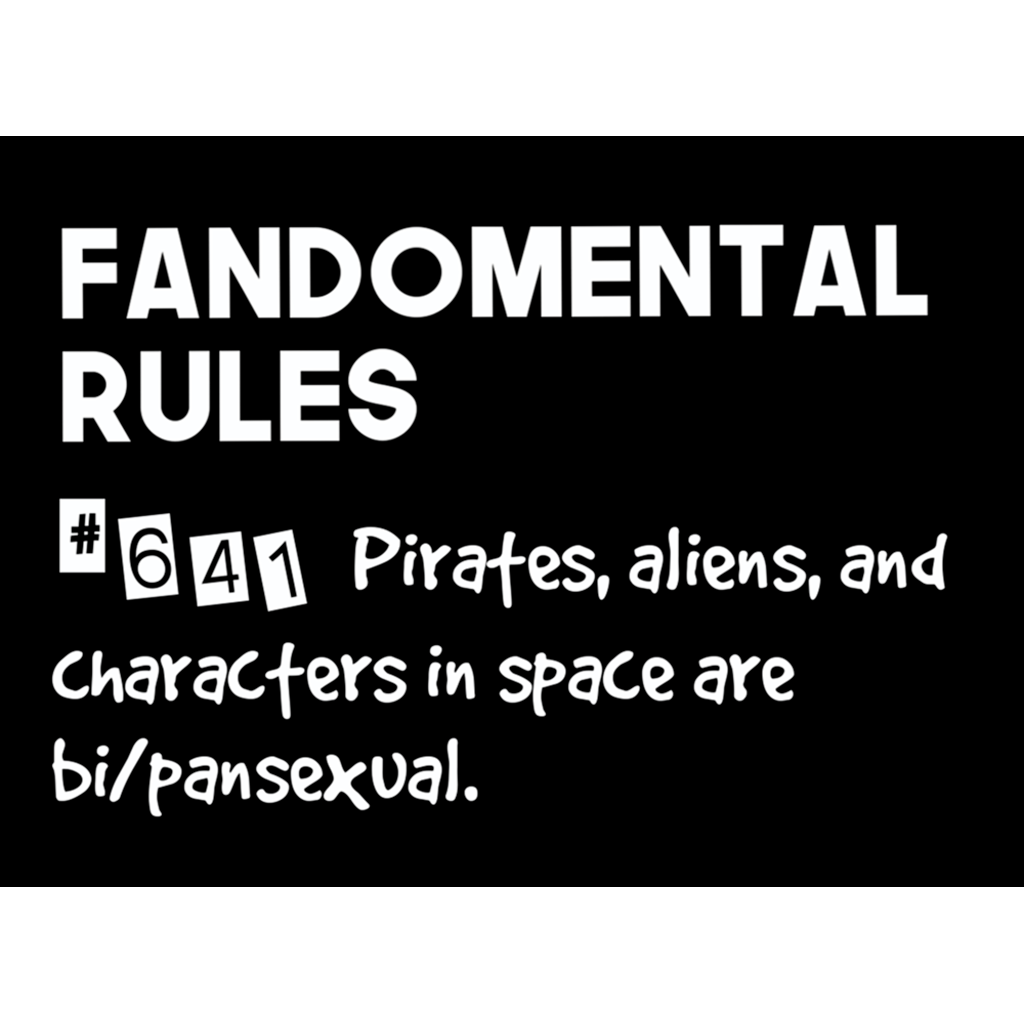Fandomental Rules #641 Sticker - 3x4 in