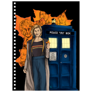 Doctor Who Reflection Notebook