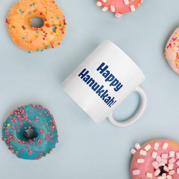 Happy Hanukkah! Mug