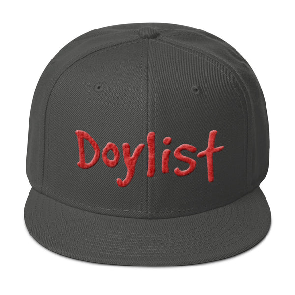 Doylist Snapback Hat - 3-D Puff