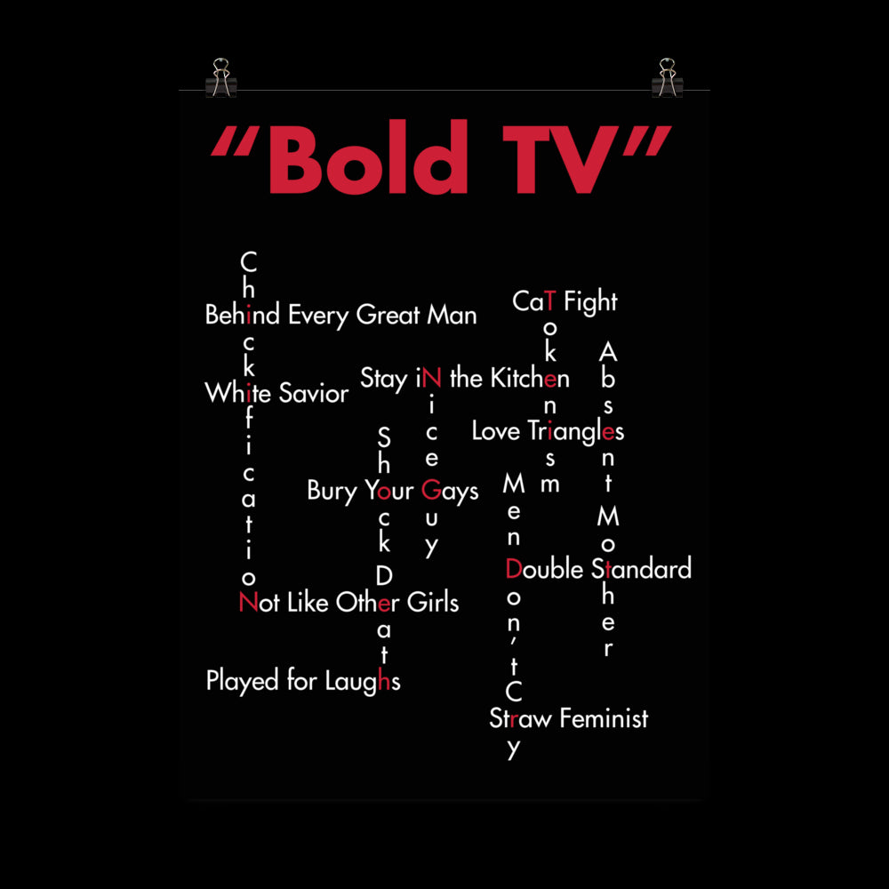 Bold Tropes Poster