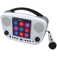 KARAOKE NIGHT KN104 CD+G Karaoke Machine with LED Light Show