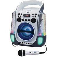 KARAOKE NIGHT KN275 CD+G Karaoke Machine with Dancing Water LED Light Show