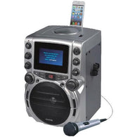 "KARAOKE USA GQ743 CD+G Bluetooth(R) Karaoke System with 4.3"" TFT Color Screen"
