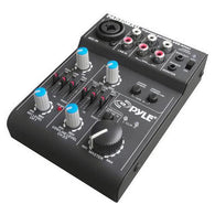 5-Channel Professional Compact Audio DJ Mixer With USB Interface