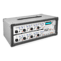 8-Channel 800 Watt Bluetooth Mixer with Balanced Mic & Line Inputs, USB & SD Card Readers