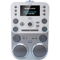 "THE SINGING MACHINE STVG888 CD+G/MP3/CD/MP3+G Karaoke Player with Bluetooth(R) & 7"" Monitor"