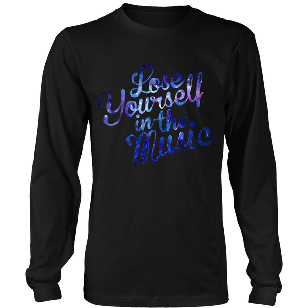 Lose Yourself In The Music Long Sleeve Shirt