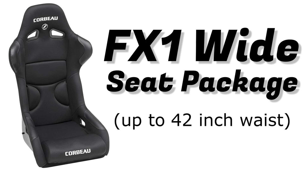 Option - FX1 Wide Seat Package - $1145