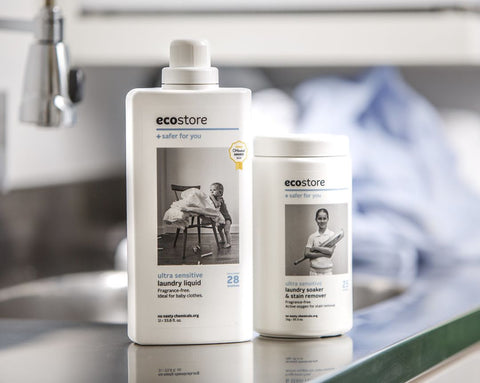 Ecostore Laundry Range - Natural Washing Alternatives