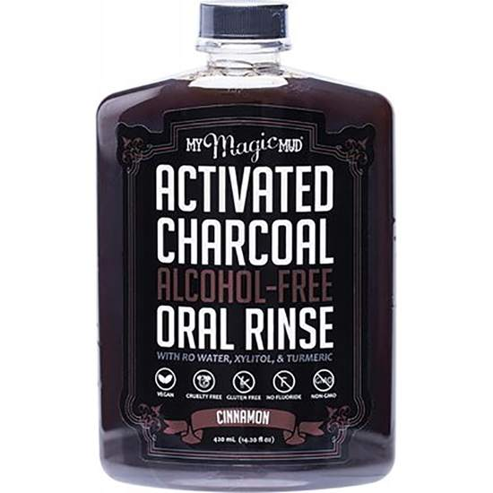 Activated Charcoal Alcohol-Free Mouthwash