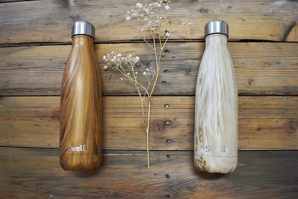 wooden swell bottles