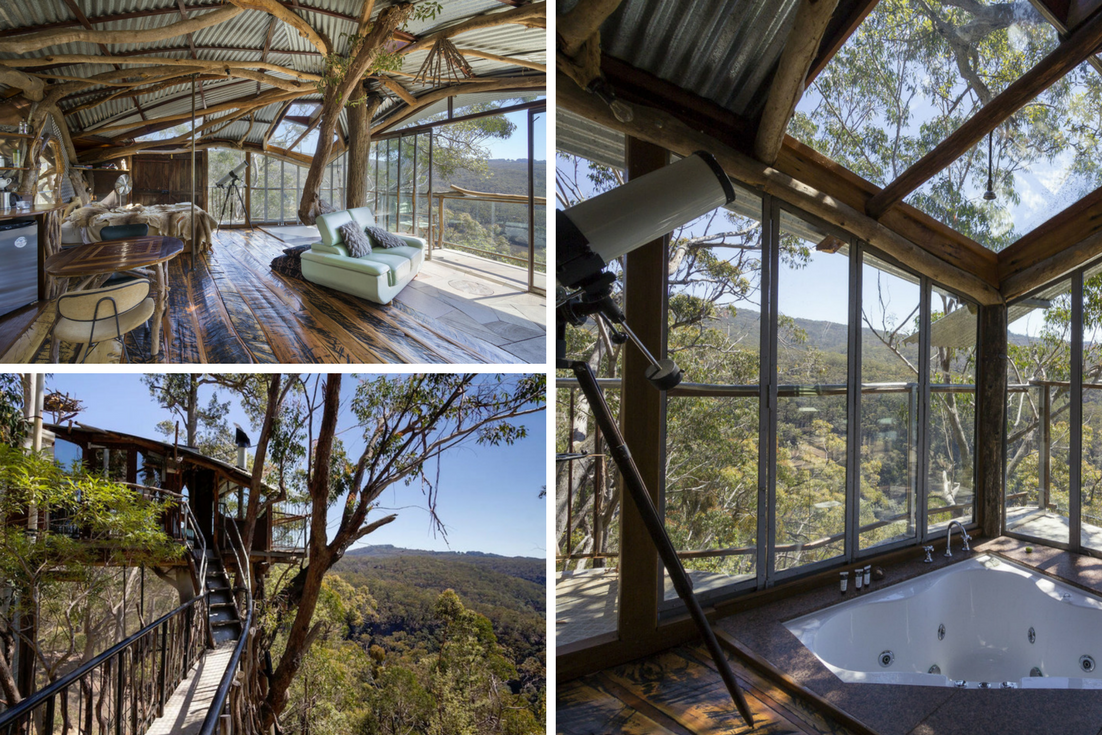 Blue Mountains Treehouse - YoHome Airbnb Bucket List