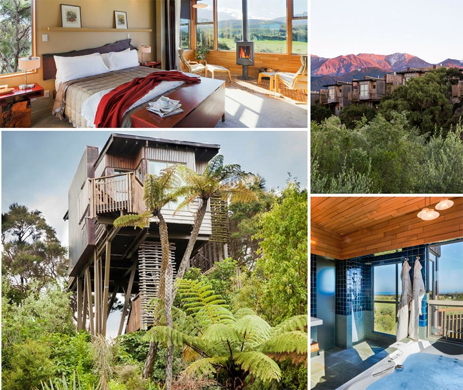 Hapuku Lodge & Tree Houses - romantic escapes for couples