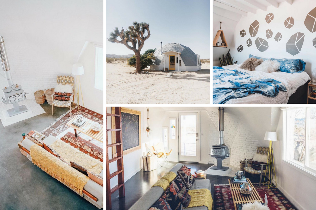 Dome in the Desert - Airbnb Bucket List
