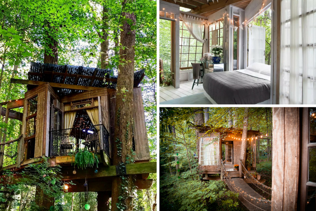 The Atlanta Treehouse - AirBnb Bucket List - YoHome