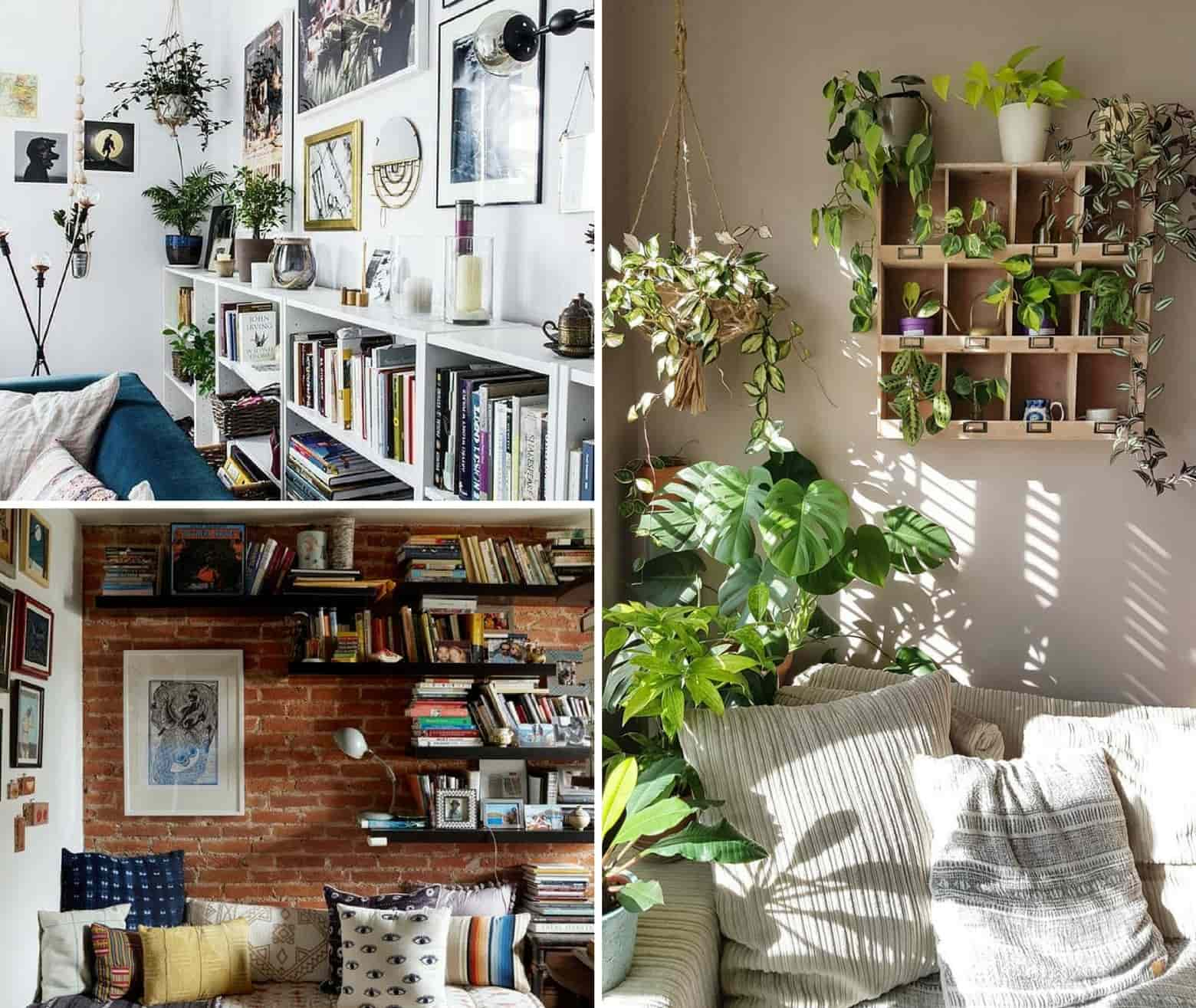 Decor Ideas with Plants - Living room inspiration