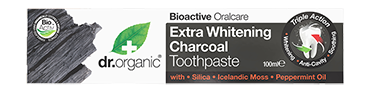 Dr. Organic Natural Charcoal Toothpaste with Activated Charcoal