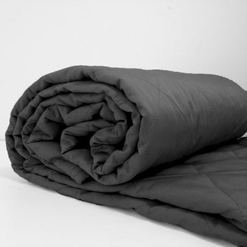 100% Bamboo Charcoal Quilts - Charcoal